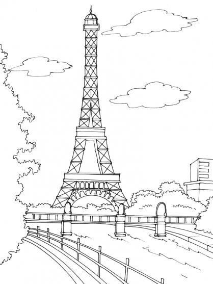 coloriage 7 dessin France