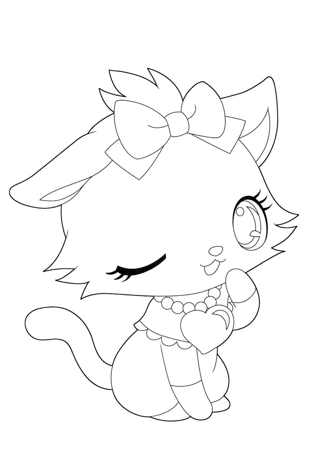 coloriage 8 dessin Jewelpet