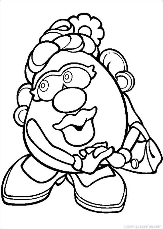 Coloriage madame patate les beaux dessins de imprimer - Madame patate toy story ...