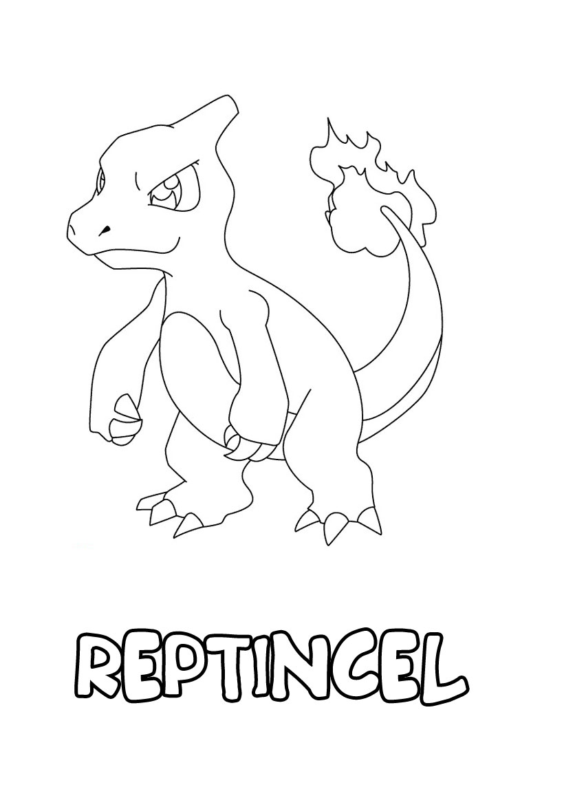 Coloriage pokemon les beaux dessins de dessin anim - Coloriage pokemon dracaufeu ...