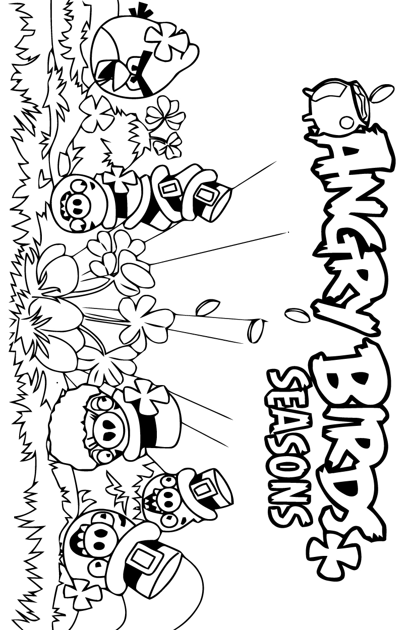 Coloriage angry birds les beaux dessins de dessin anim - Angry bird coloriage ...