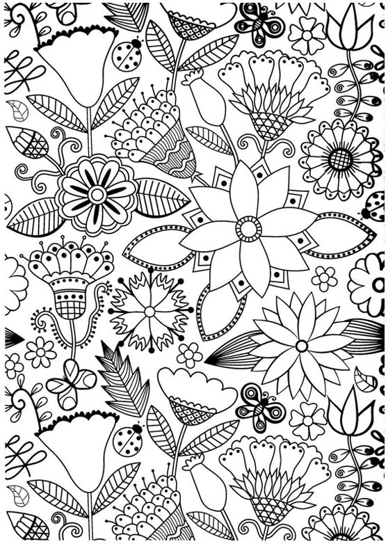 coloriage de antistress