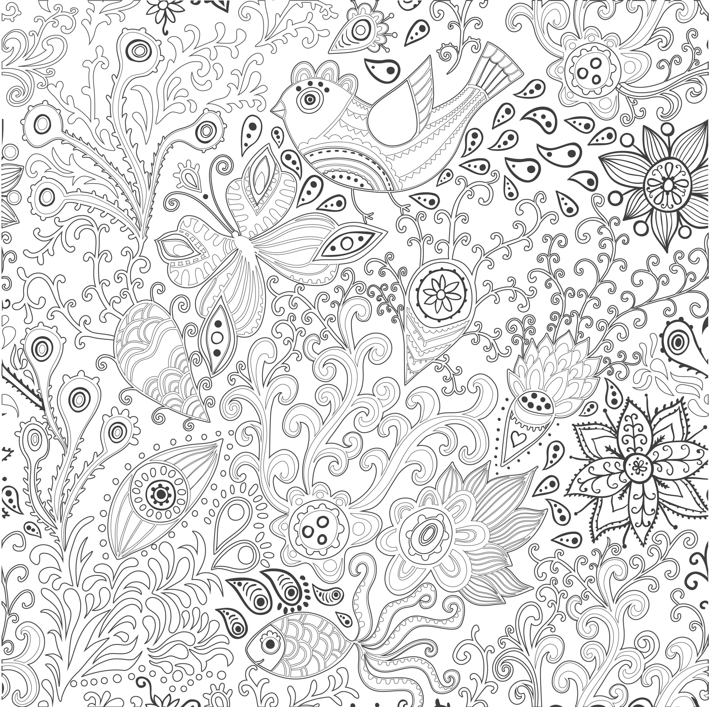 350 coloriage anti stress