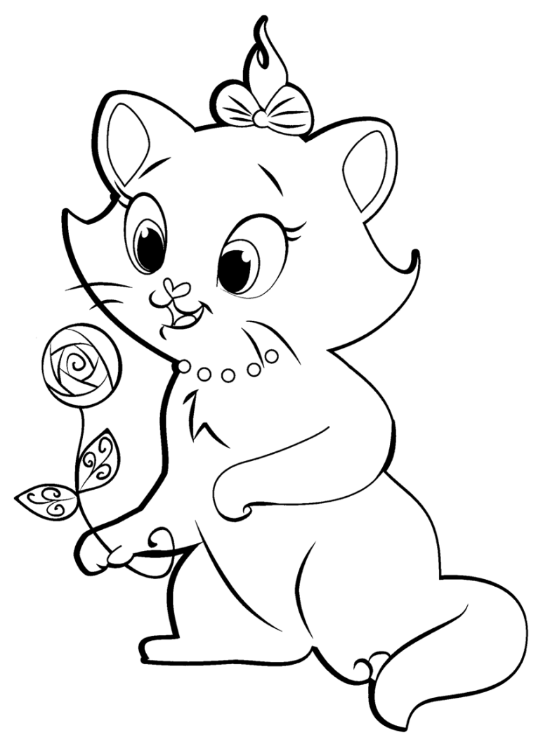 coloriage de aristochats