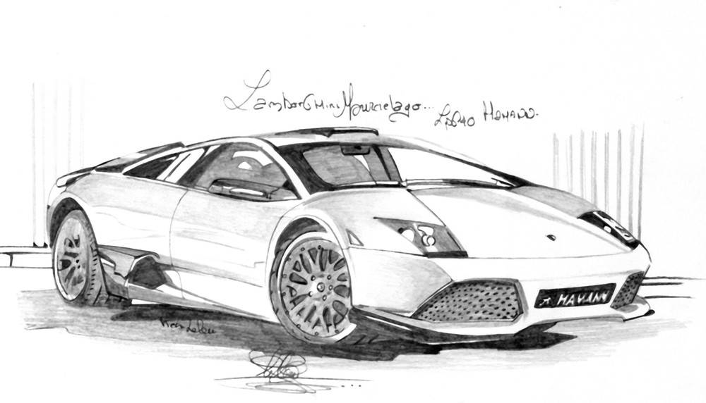 dessin de lamborghini a imprimer id e d 39 image de voiture. Black Bedroom Furniture Sets. Home Design Ideas
