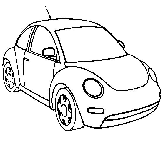 Coloriage automobile les beaux dessins de transport - Dessin automobile ...