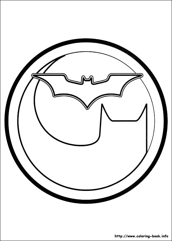 Coloriage Signe Batman.Coloriage Batman Les Beaux Dessins De Super Heros A