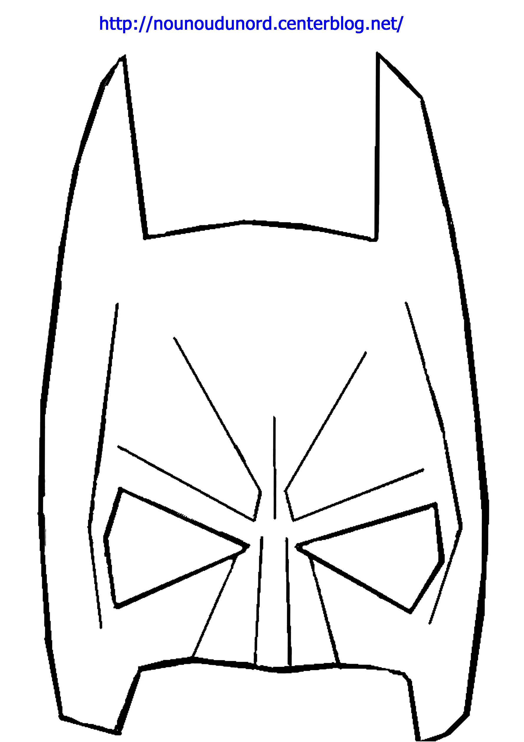 Dessin de Batman 8343   imprimer · coloriage de batman