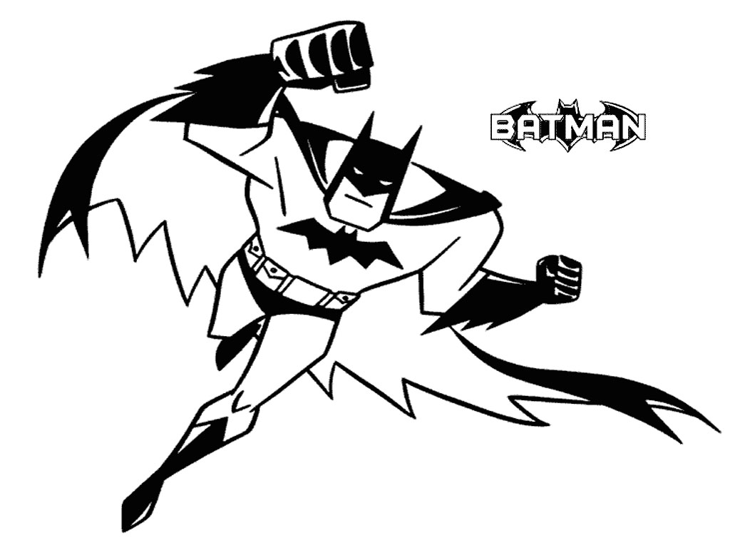 Dessin de Batman   imprimer · coloriage de batman