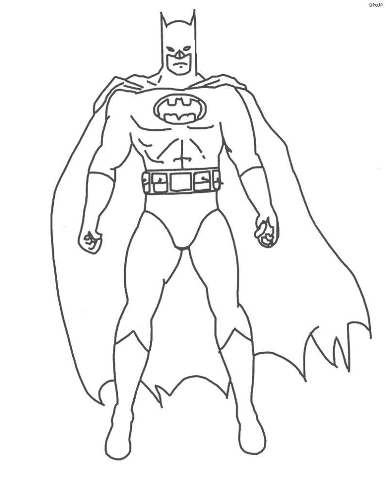 Dessin de Batman 8415   imprimer · coloriage de batman