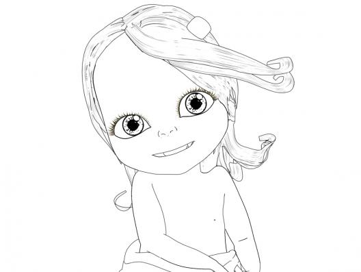 coloriage de bebelilly