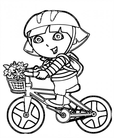 Coloriage bicyclette les beaux dessins de transport - Bicyclette dessin ...