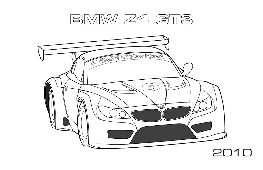 coloriage de bmw