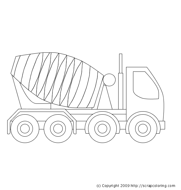 coloriage de bulldozer