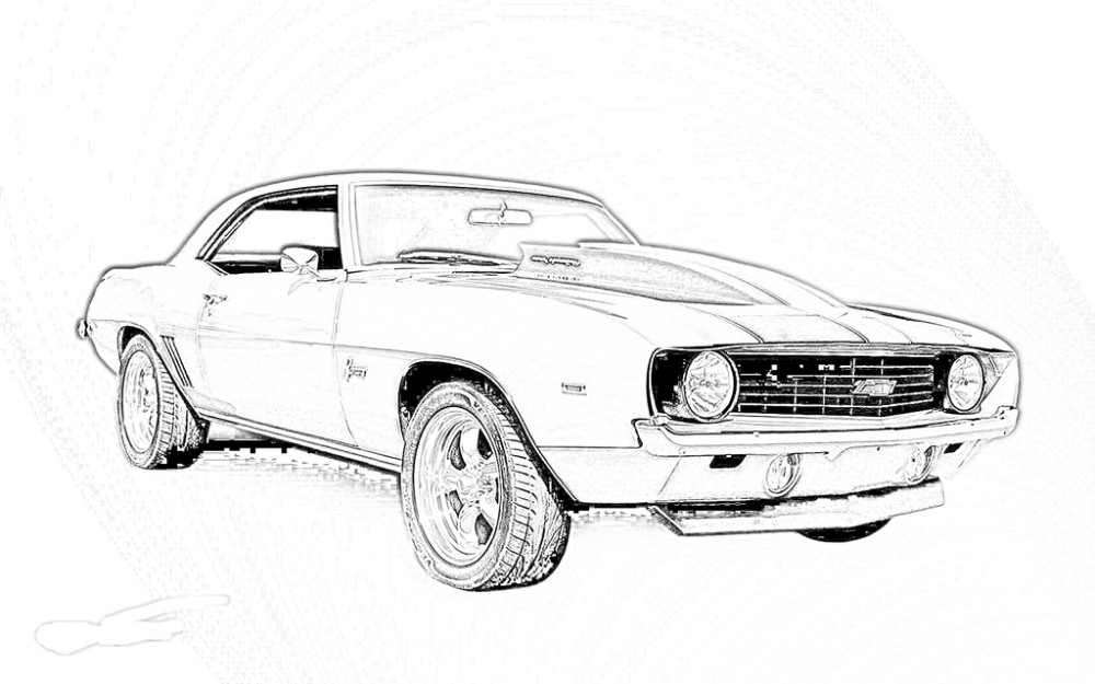 Innovative Race Car Pictures To Print Best Design For You moreover Weekday Wind Down Color Whimsical Imagery together with Honda Coloring Pages moreover P216070 also Royalty Free Stock Image Jeep Truck Outline Image12991056. on muscle car