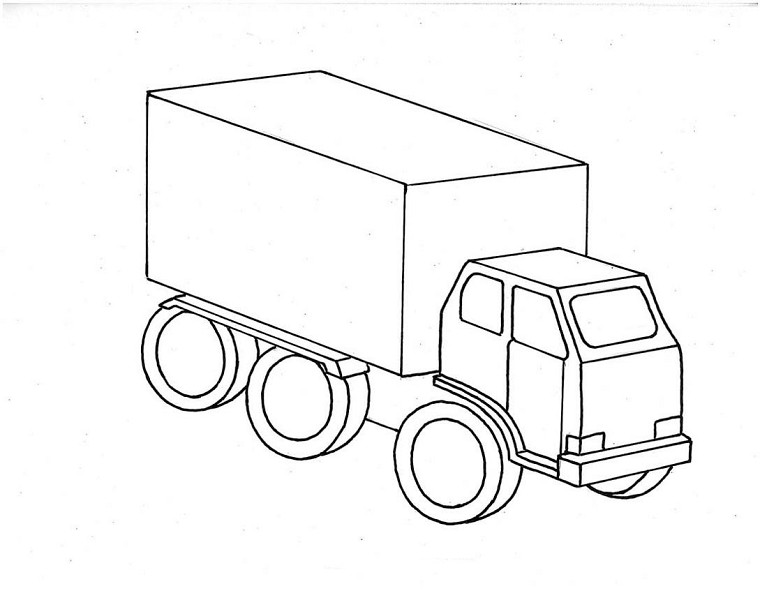 Coloriage camion les beaux dessins de transport imprimer et colorier page 14 - Dessin de transport ...