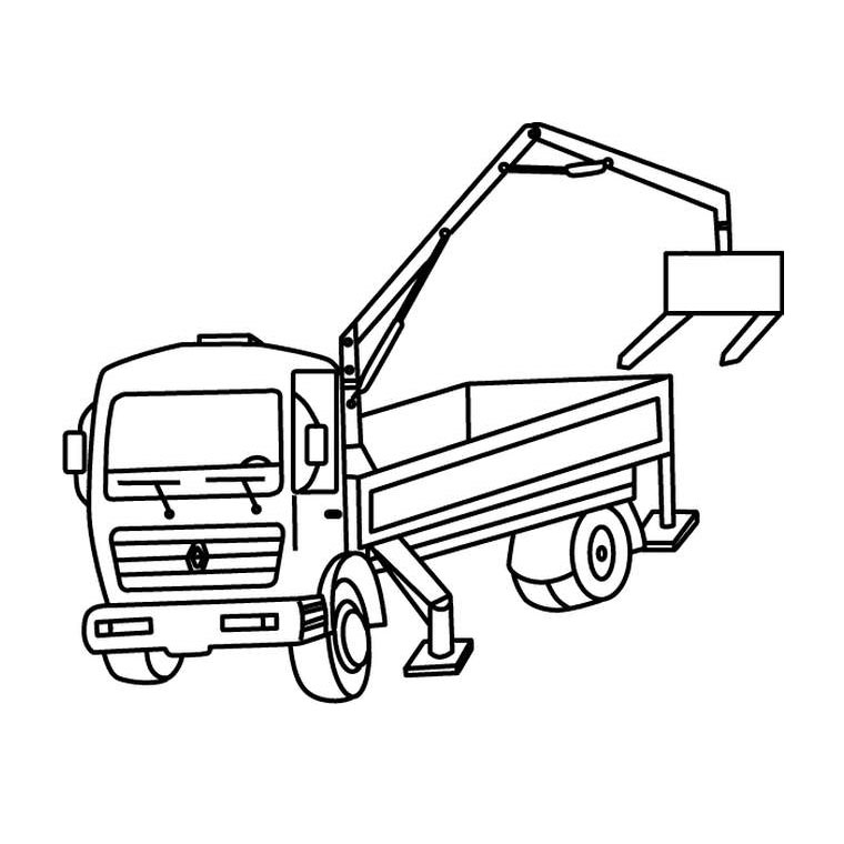 Coloriage camion les beaux dessins de transport - Camion toupie playmobil ...