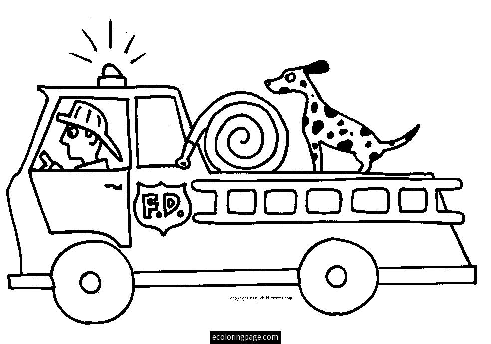 cardinal coloring pages preschool truck - photo#13