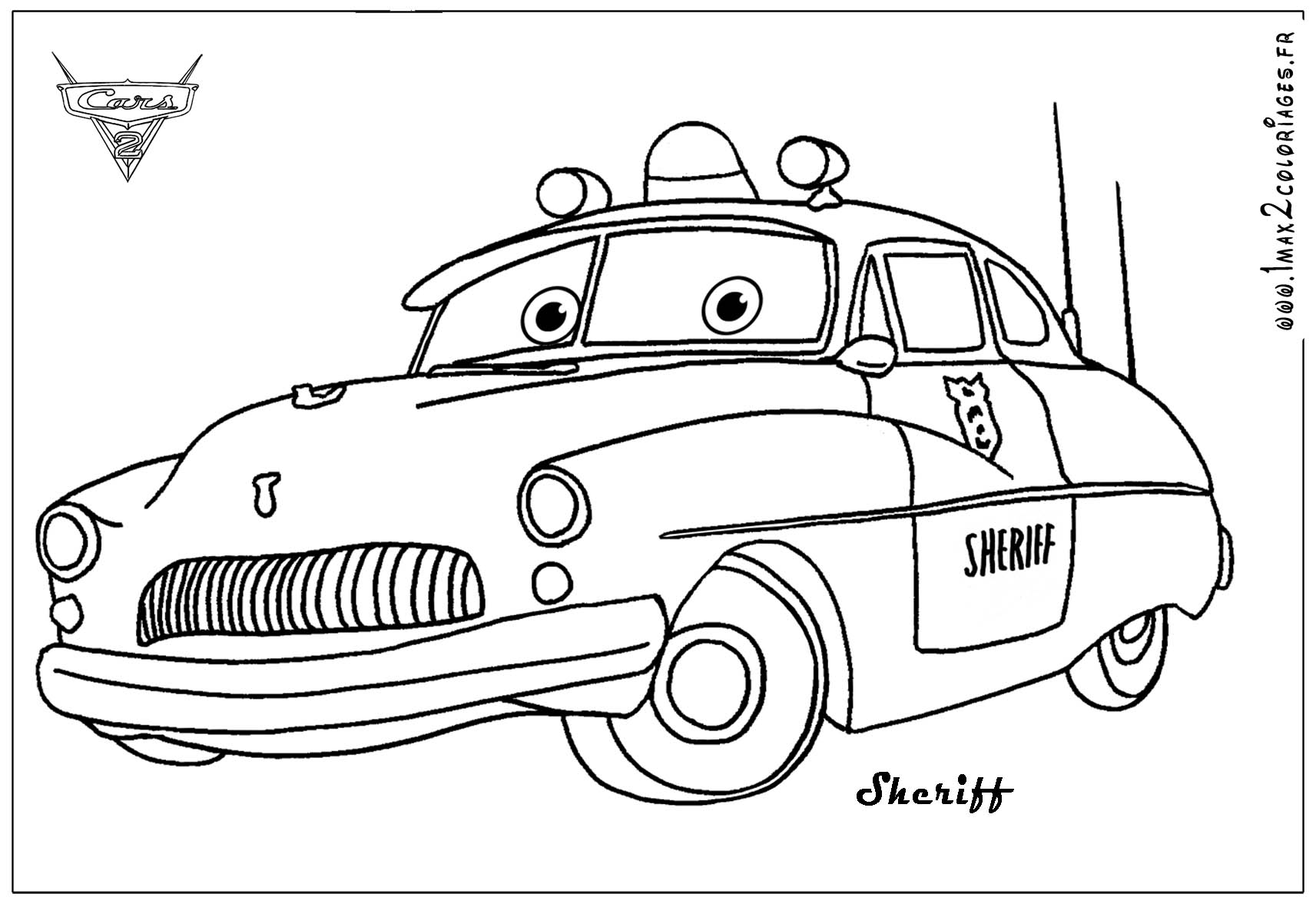 pixar movie cars coloring pages - photo#25