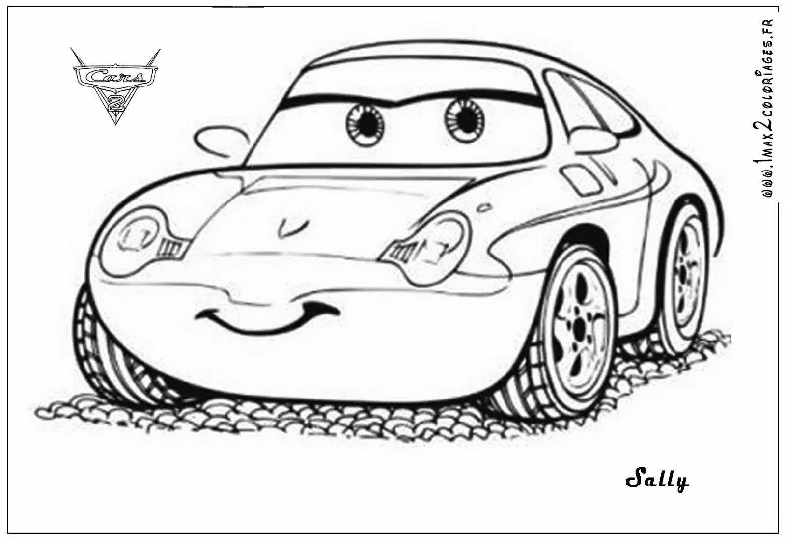 Coloriage cars flash mcqueen les beaux dessins de - Coloriage pixar ...