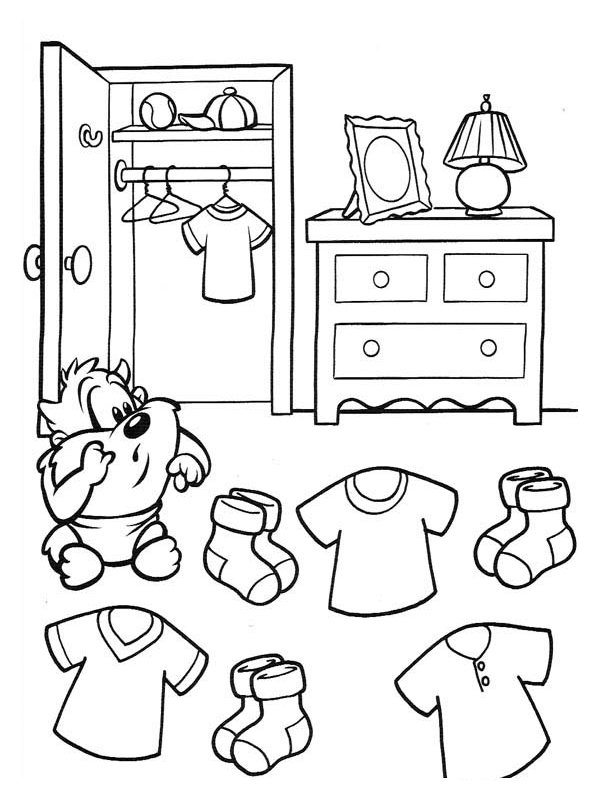 coloriage chambre les beaux dessins de autres imprimer et colorier page 2. Black Bedroom Furniture Sets. Home Design Ideas