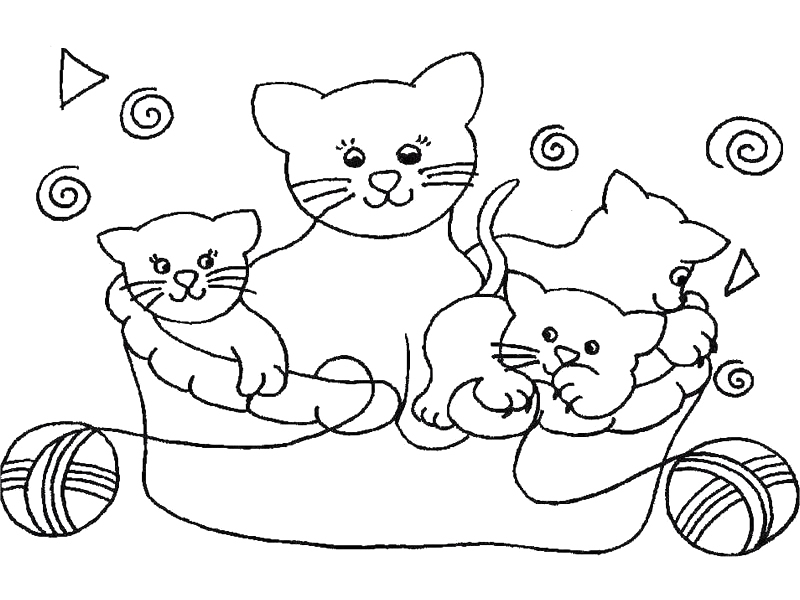 coloriage de chat