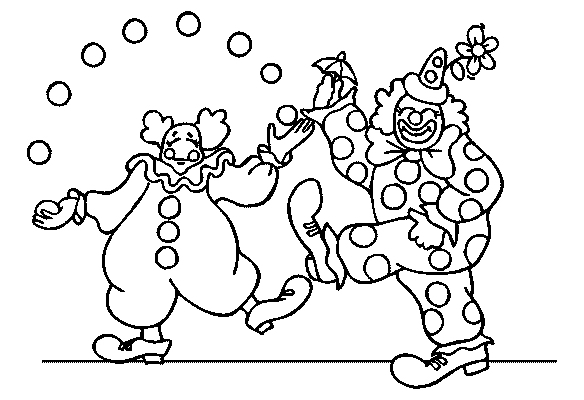 circus scene coloring pages - photo #35