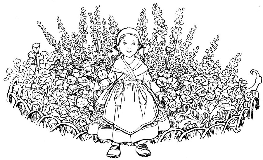 advanced coloring pages spring - photo#5