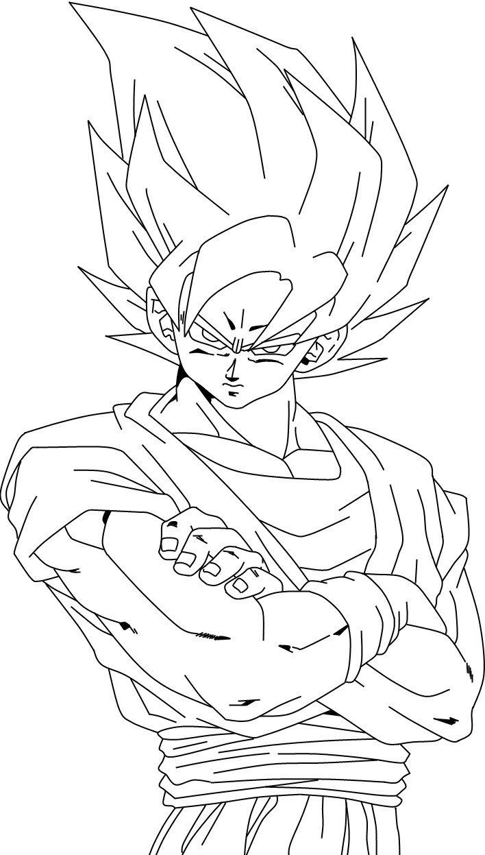 Dessin de Dragon Ball Z   imprimer