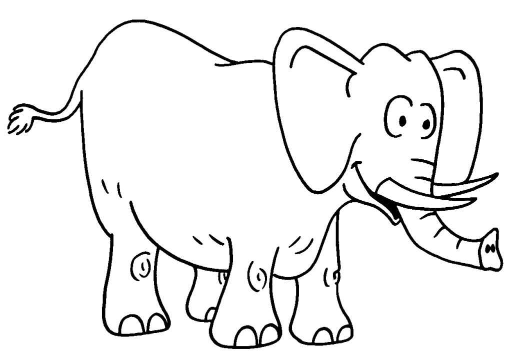 coloriage elephant les beaux dessins de animaux imprimer et colorier. Black Bedroom Furniture Sets. Home Design Ideas