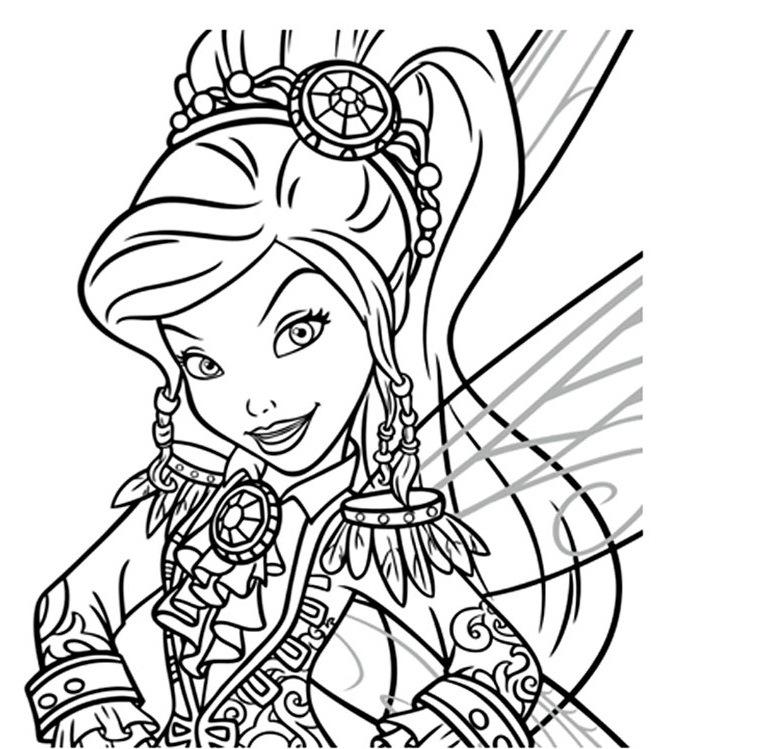 Coloriage fee clochette les beaux dessins de disney - Fee clochette gratuit ...