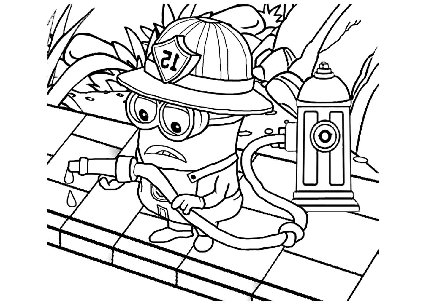 affordable dessin de film les minions imprimer coloriage de with dessin colorier