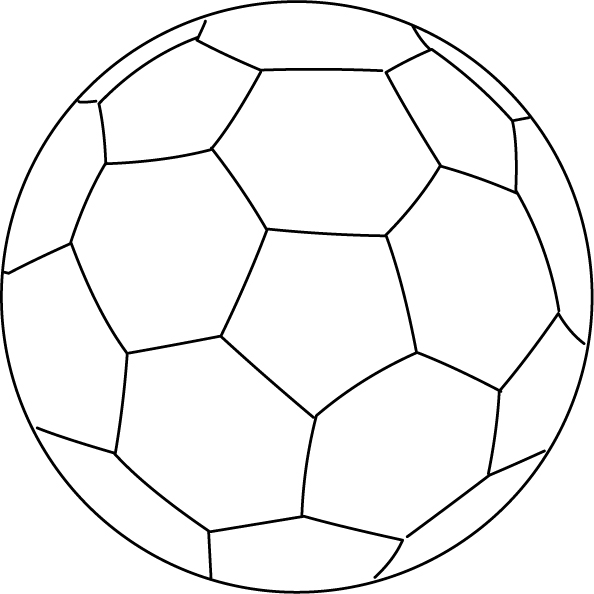 Coloriage ballon football imprimer - Dessin de ballon de foot ...