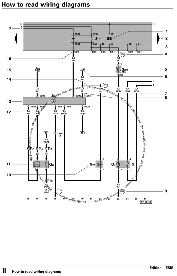 vw vanagon headlight wiring diagram vw alternator diagram