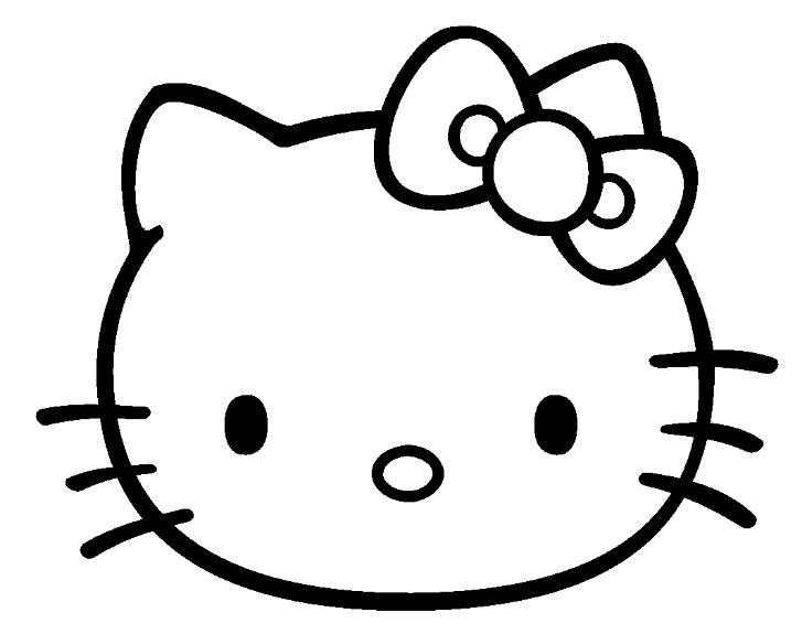 Coloriage hello kitty les beaux dessins de dessin anim imprimer et colorier page 8 - Dessin de hello kitty facile ...