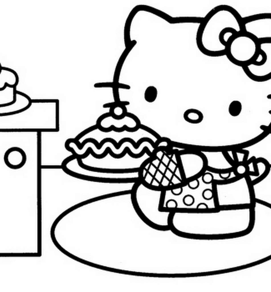 Coloriage hello kitty les beaux dessins de dessin anim - Hello kitty imprimer ...