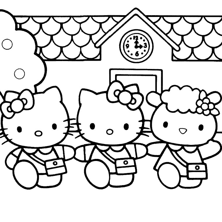 Coloriage hello kitty princesse les beaux dessins de - Coloriage hello kitty a colorier ...