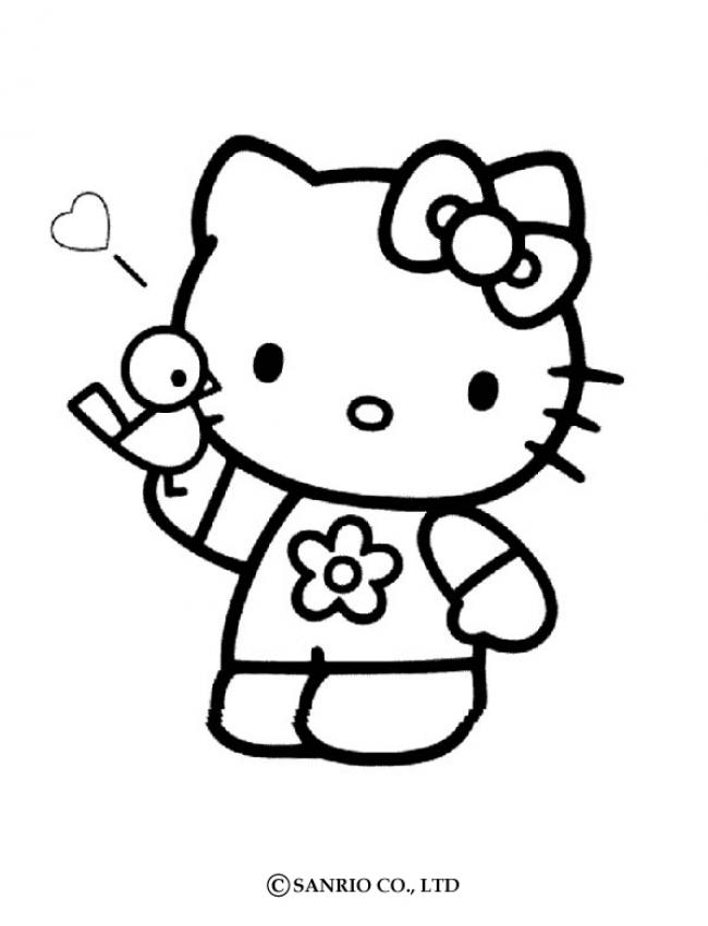Coloriage hello kitty princesse les beaux dessins de meilleurs dessins imprimer et colorier - Dessin de hello kitty facile ...
