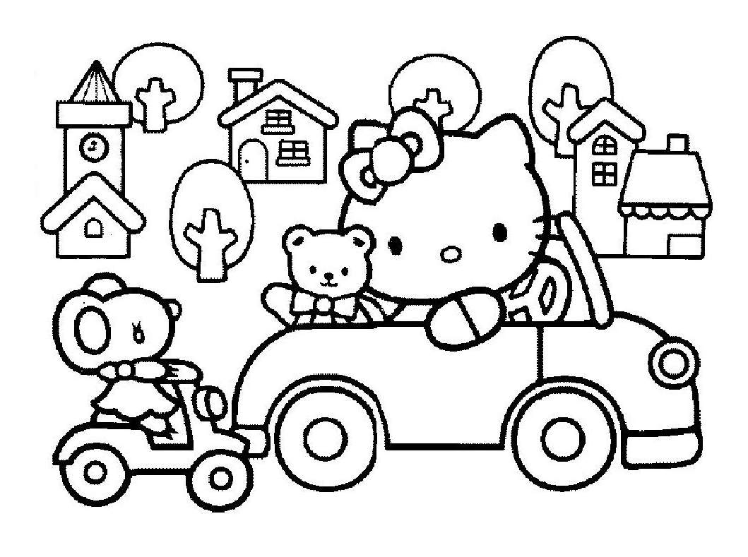 Coloriage hello kitty princesse les beaux dessins de imprimer et colorier page 7 - Hello kitty a imprimer ...