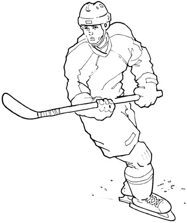 Edmonton Oilers Coloring Pages - Learny Kids