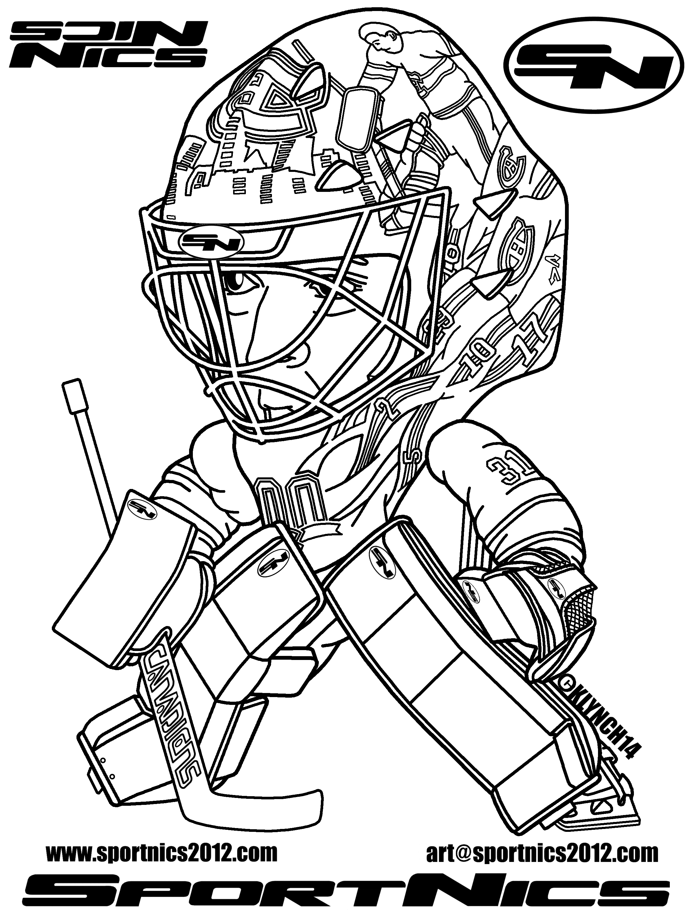 Montreal Canadiens Coloring Pages - Photos Coloring Page Ncsudan.Org