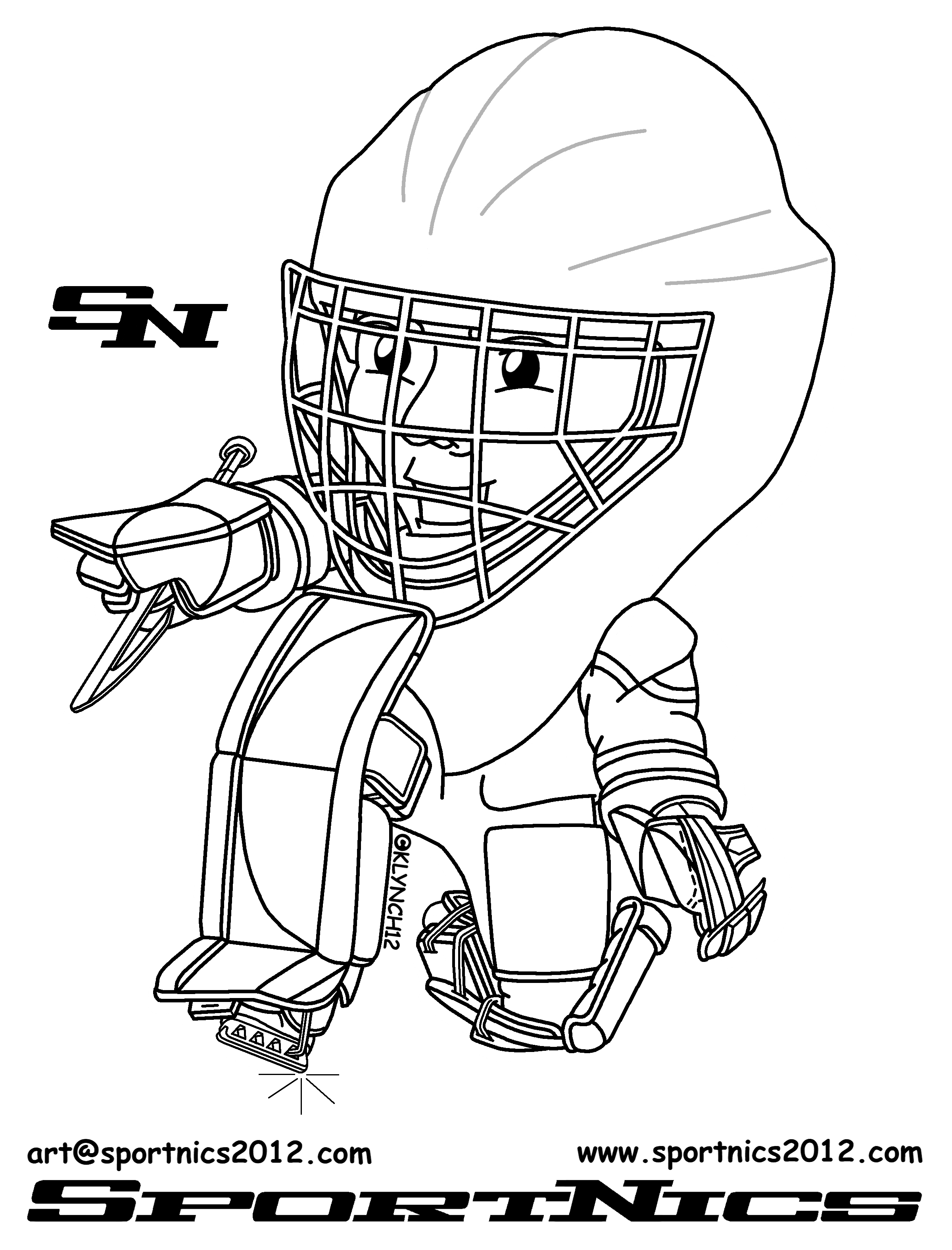 Wayne gretzky coloring pages coloring pages - Dessin hockey ...