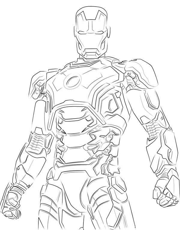 Iron Coloring Pages Iron Man Coloring Page New Iron Man
