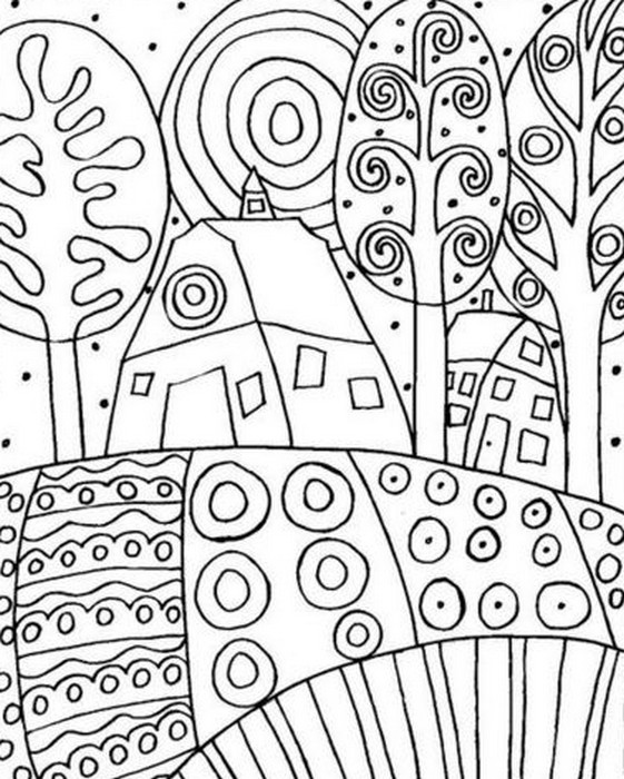 Klimt Tree Of Life Art Lesson Coloriage Klimt - Les ...