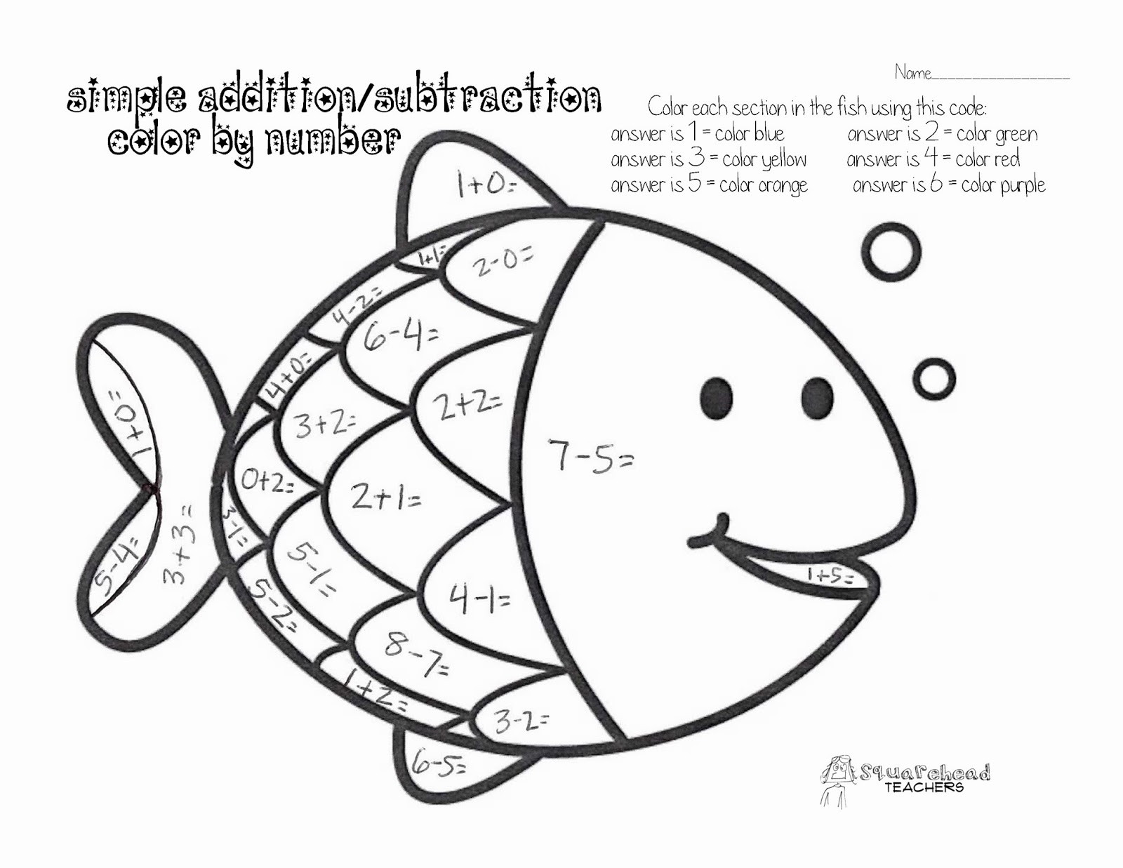 simple multiplication coloring pages - photo#31