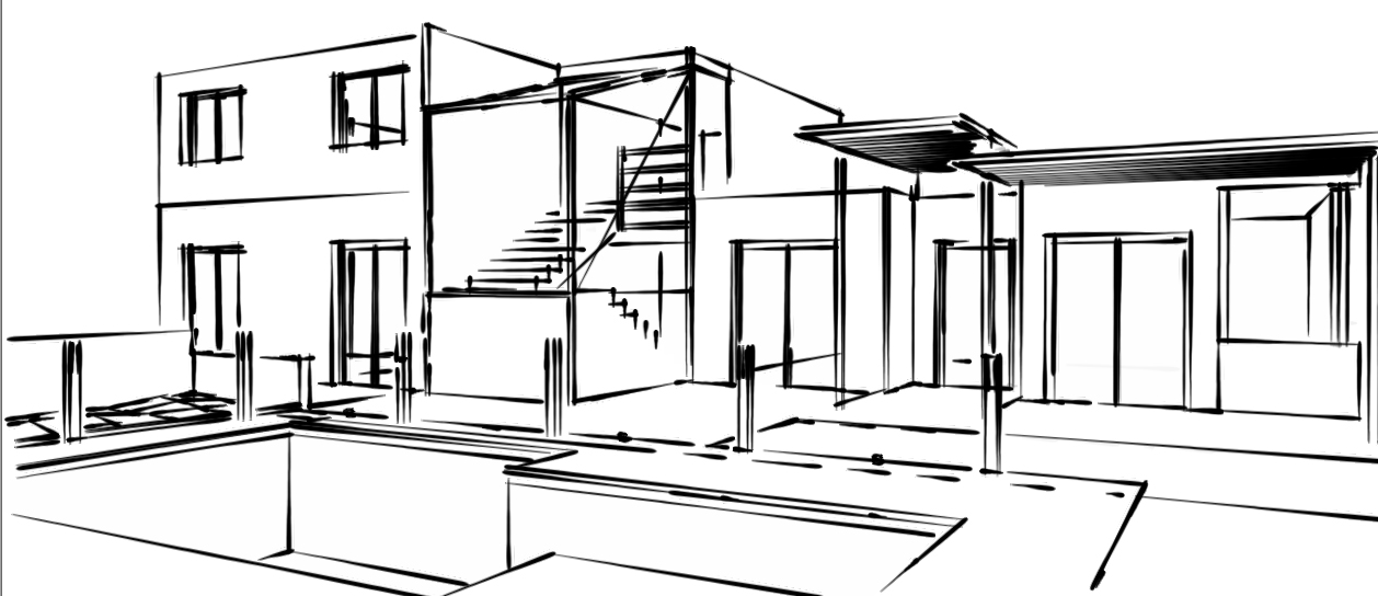 Comment dessiner le plan d une maison cool amenagement de for Dessiner les plans de sa maison