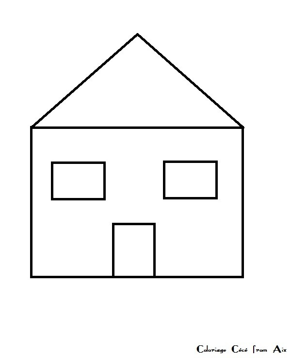 Comment Dessiner Une Maison Moderne Youtube Of Dessin Maison Simple