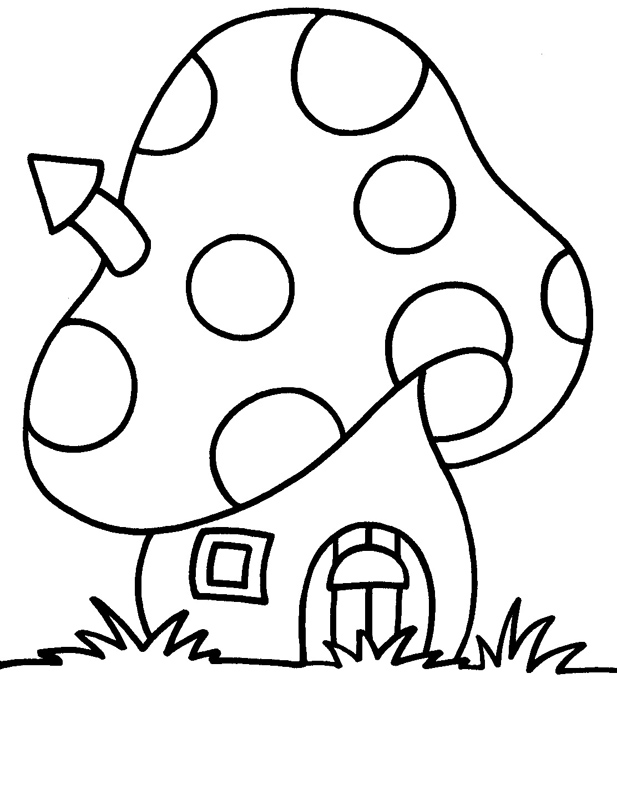 coloriage de maisonsimple