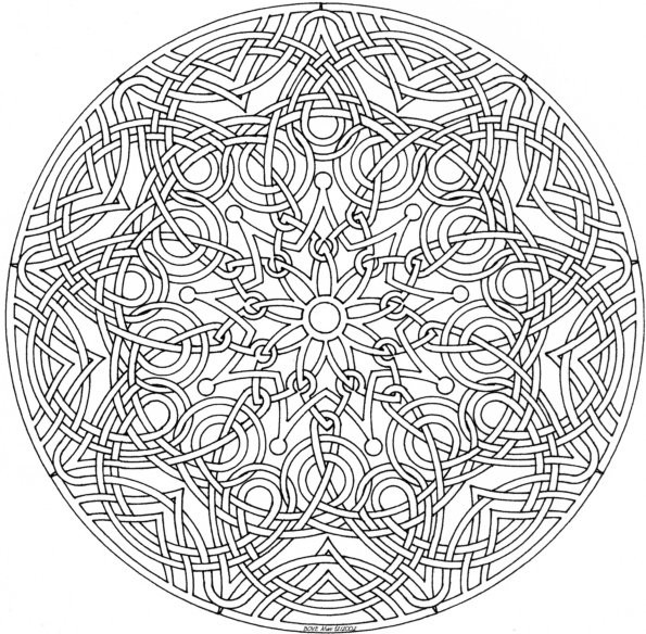 coloriage mandala les beaux dessins de autres imprimer et colorier page 44. Black Bedroom Furniture Sets. Home Design Ideas
