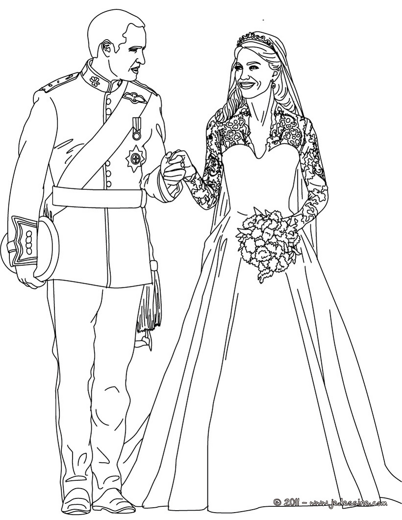 ariel coloring pages wedding dresses - photo#11